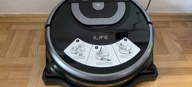 Обзор робота-пылесоса ILIFE W400