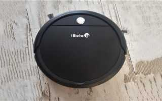 Обзор робота-пылесоса IBOTO AQUA X220G