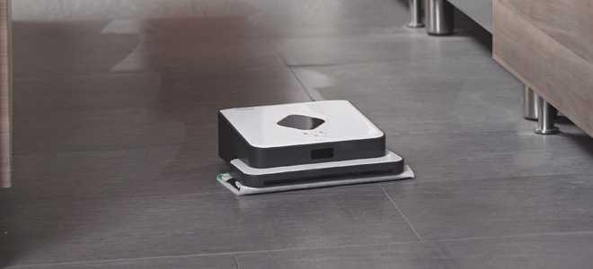 Обзор робота-пылесоса IROBOT BRAAVA 390T