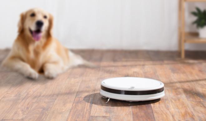 Робот-пылесос Xiaomi убирает шерсть животных