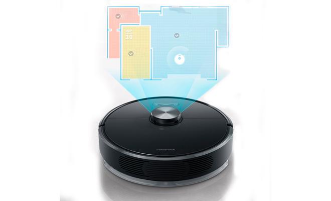 Робот-пылесос Xiaomi строит карту помещения